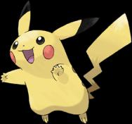 Pikachu by Ken Sugimori